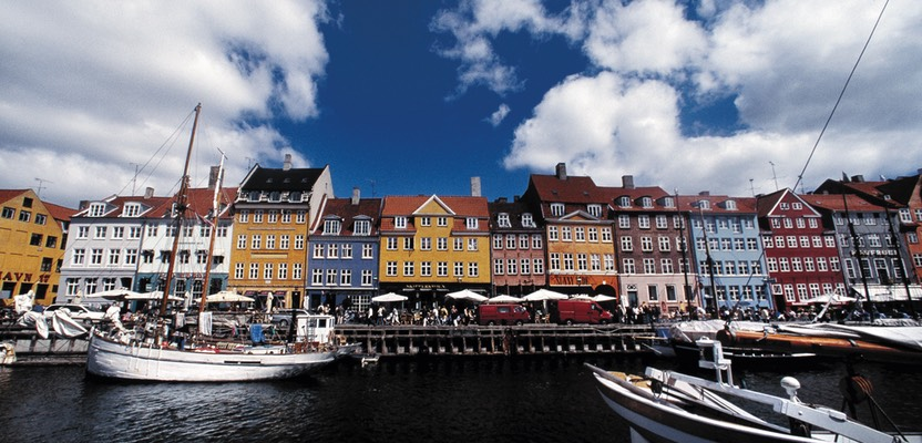 Panorama Nyhavn - Stary 'Nowy' Port